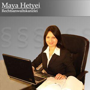 Адвокат Майя Хетьей (специалист по семейному праву) / Maya Hetyei (Fachanwältin für Familienrecht)