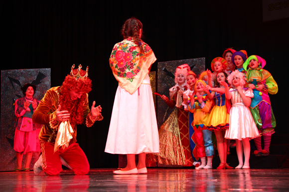 «Золотой ключик» от сказки: в Берлине завершился детский театральный конкурс