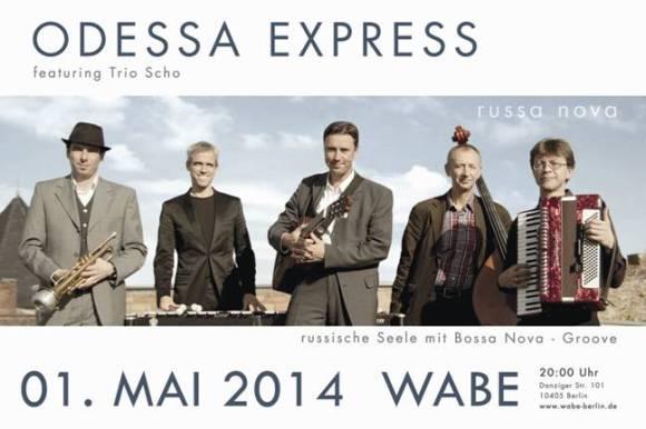 Odessa Express: летнее выступление в весеннем городе