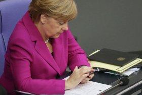 Новый телефон Ангелы Меркель