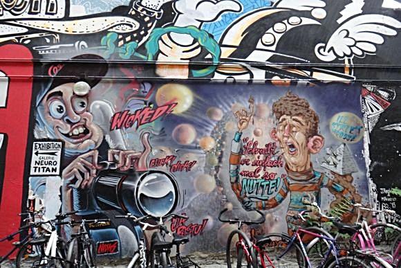 Стрит-арт Берлина: от вандализма до искусства