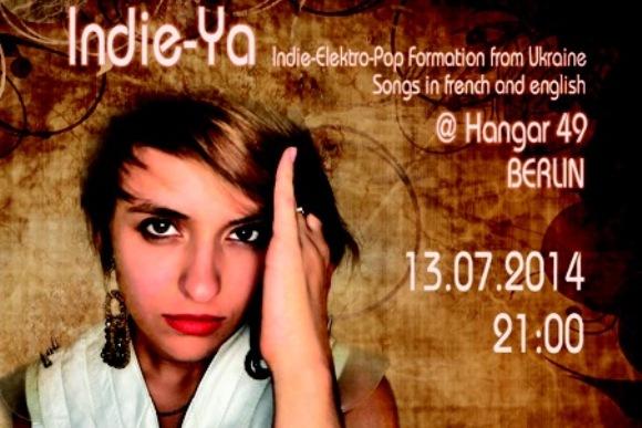 Концерт группы «Indie-Ya» в Берлине