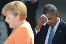Обама и Меркель помирились?