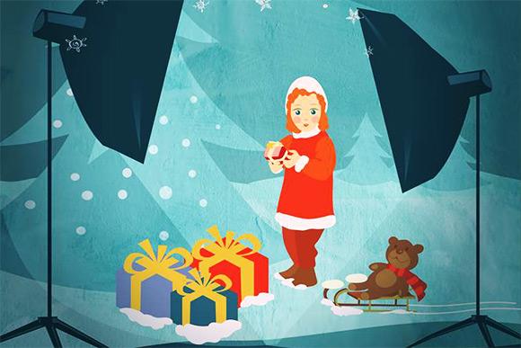 Фотопроект: Рождество начнется с улыбки