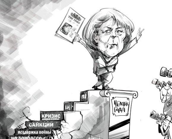 Меркель – человек года по версии Times
