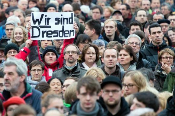 Дрезден «открывается»