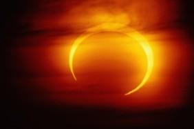 Полное солнечное затмение в Европе