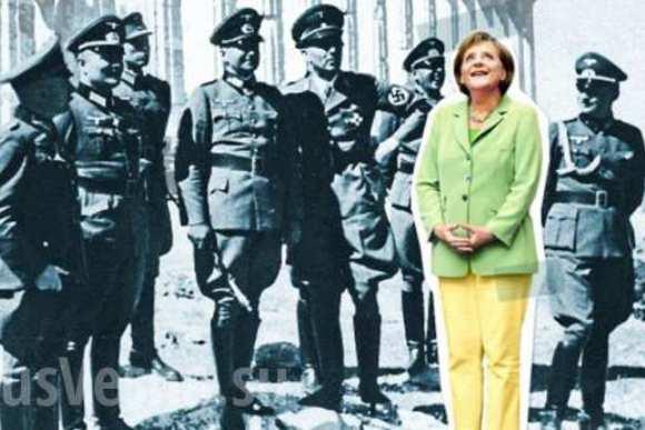 Spiegel: Меркель в кругу офицеров вермахта