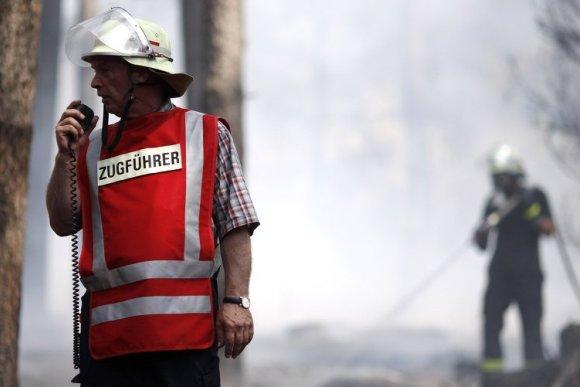 Пожар в центре для беженцев: пятеро пропавших