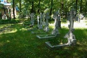 Субботник на православном кладбище Tegel