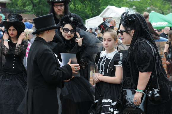 Лейпциг: Фестиваль готической субкультуры