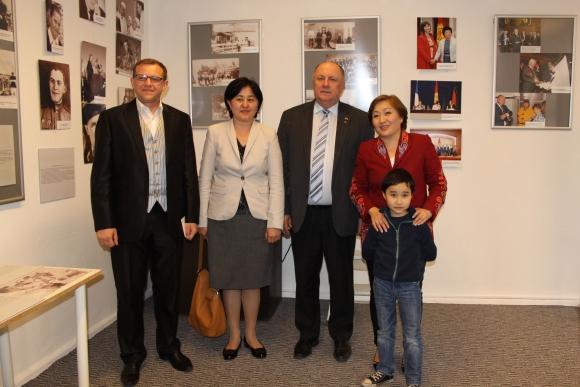 Берлин: передвижная выставка «Немцы в истории Кыргызстана»