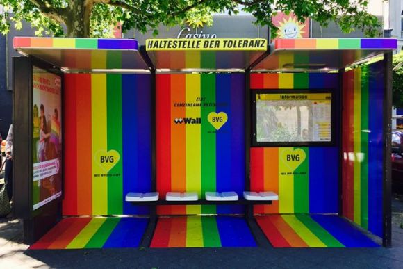 «Остановка Толерантности» появилась на Nollendorfplatz