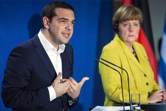 Меркель: мы надеемся, что народ Греции захочет выйти из ЕС