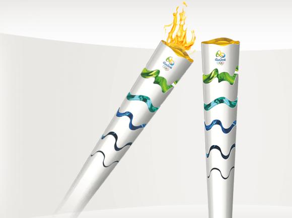 Олимпиада 2016: Бразилия показала дизайн факела