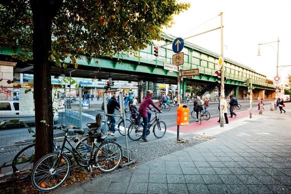 Велосипедная «чума» на берлинских дорогах