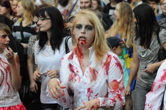 Зомби в Лейпциге