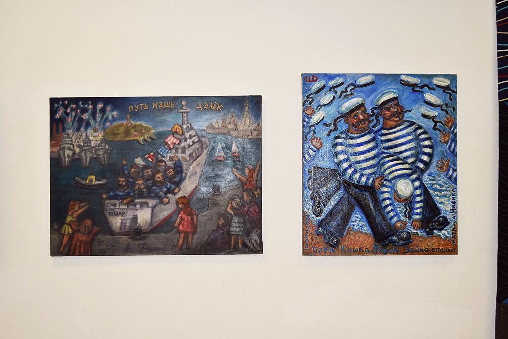 «МИТЬКИ В БЕРЛИНЕ»: совместная выставка берлинских и петербургских художников