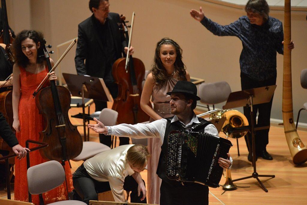 Король аккордеона Айдар Гайнуллин и друзья в Берлине