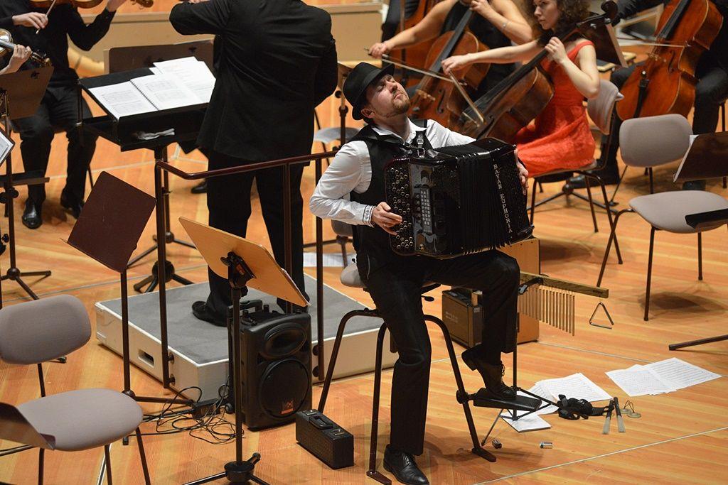 Король аккордеона Айдар Гайнуллин и друзья в Берлине: танго без границ
