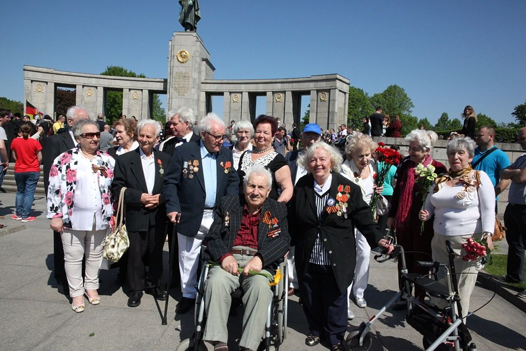 Берлин: через 71 год после войны
