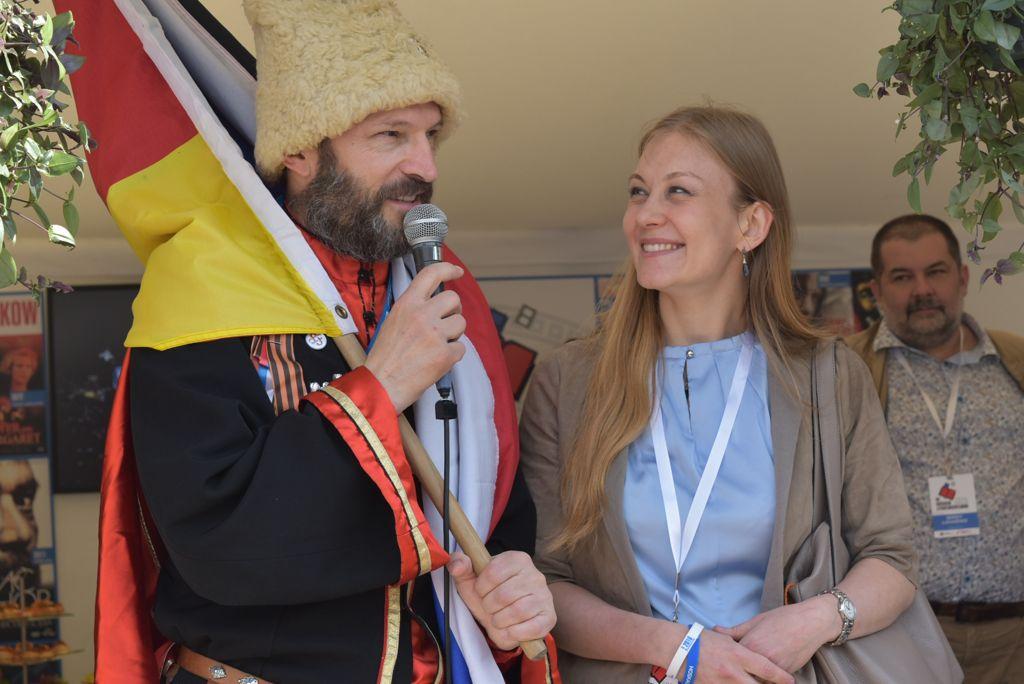 Открытие 10-го юбилейного Германо-Российского фестиваля