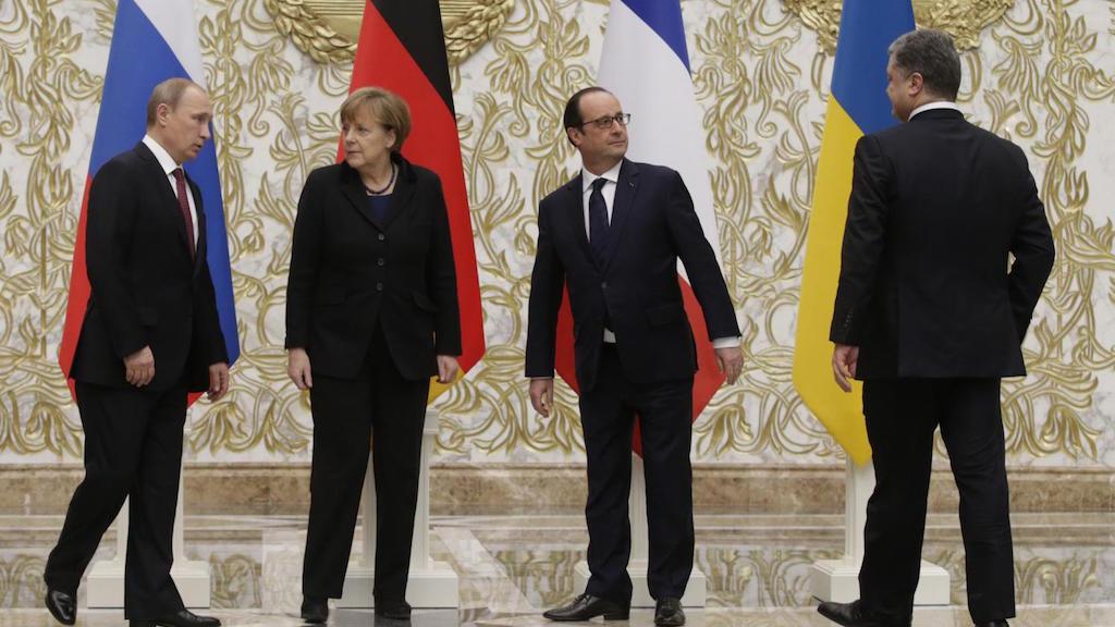 Путин примет участие во встрече «Нормандской четверки»