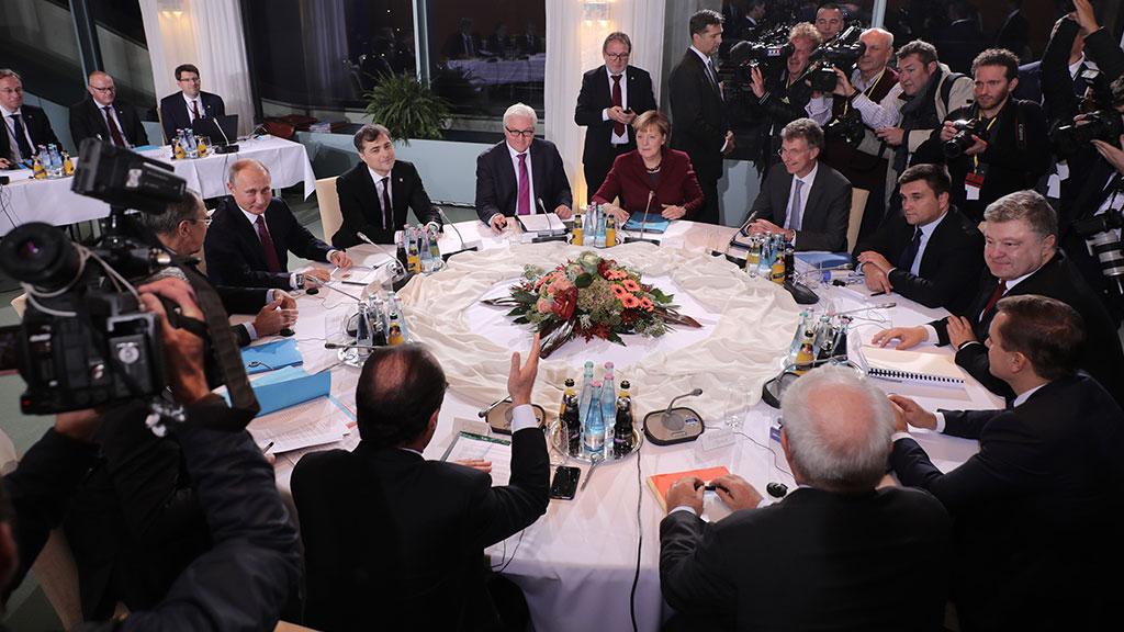 В Берлине завершился «нормандский саммит»