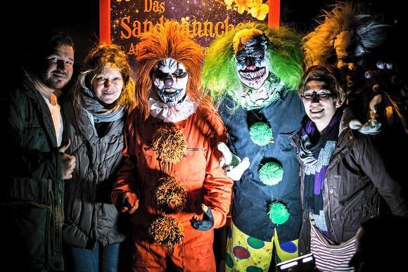 Германия: злые клоуны нападают на прохожих