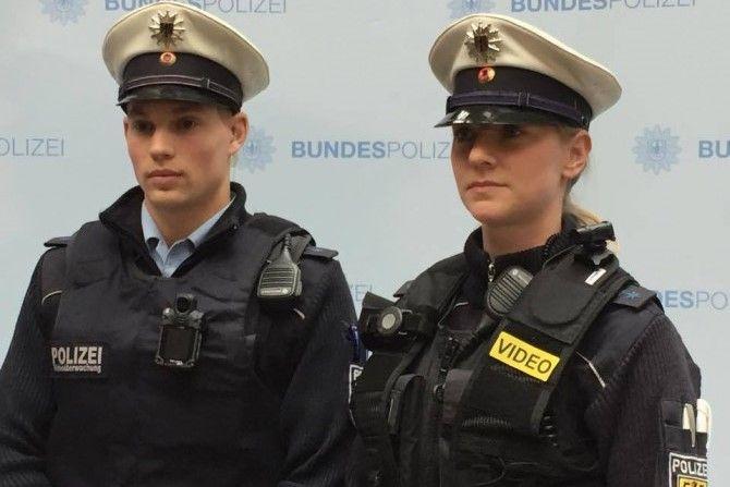 Полицейские Мюнхена тестируют нательные камеры