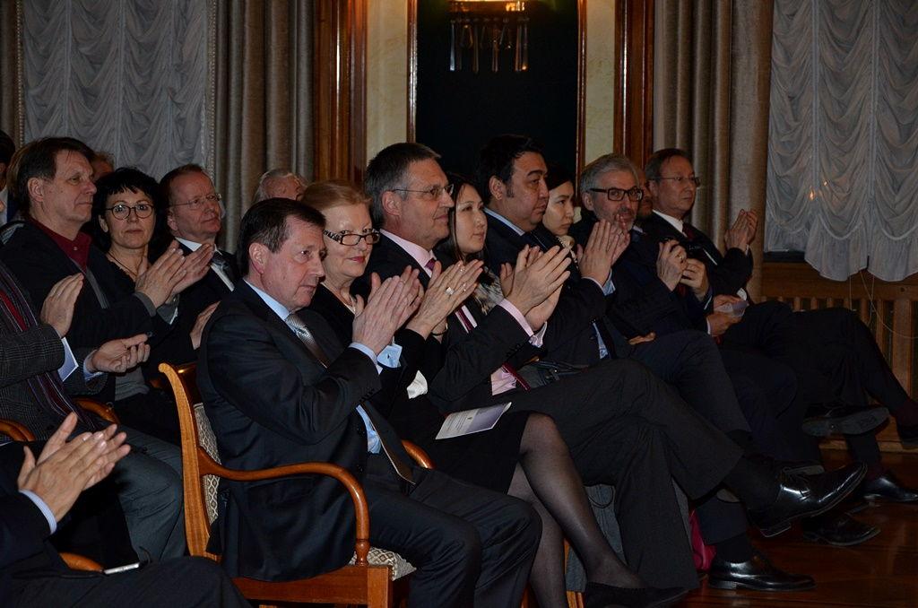 Торжественный прием в Посольстве РФ по случаю Дня дипломатического работника