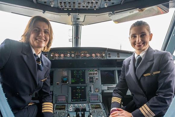 8 марта женщины должны летать