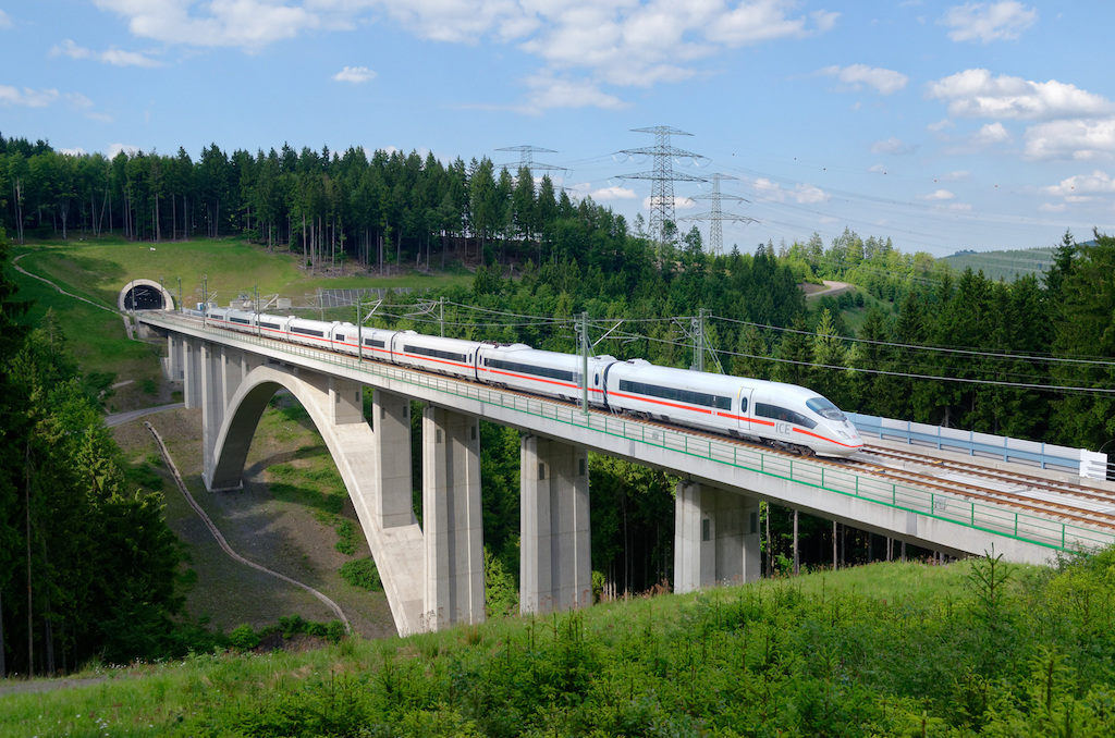 Скоро из Берлина в Мюнхен поездом всего за 3 часа 55 минут