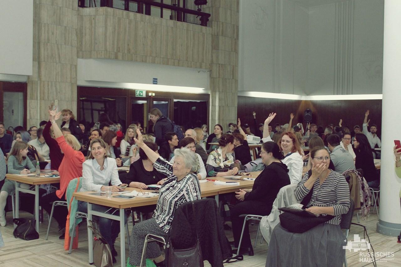 Тотальный диктант в Берлине - рекордное число участников