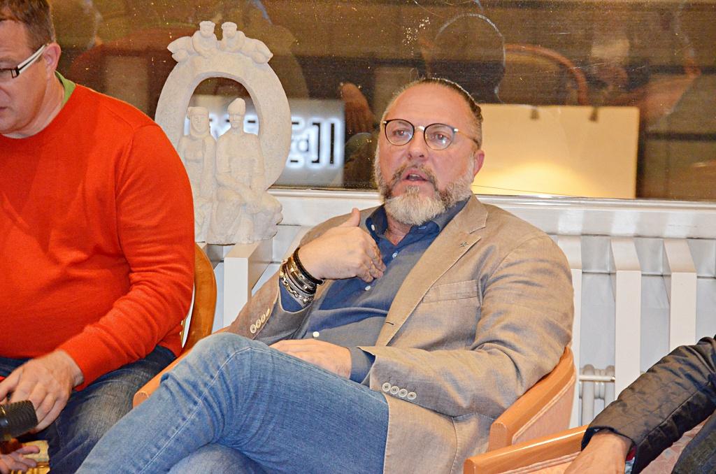Юрий Грымов в Берлине: «Все мы проповедники…»