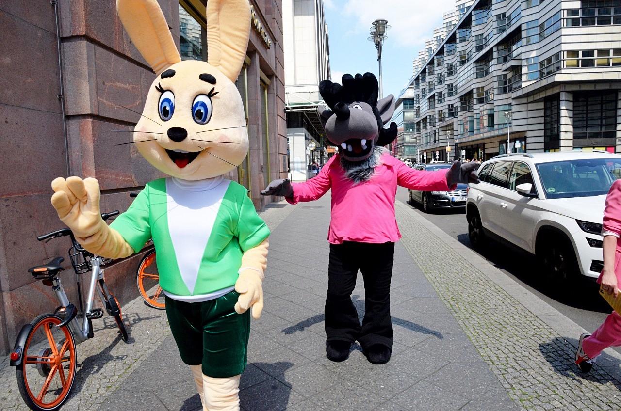 Детские праздники с героями «Союзмультфильма» станут ежегодными в Берлине