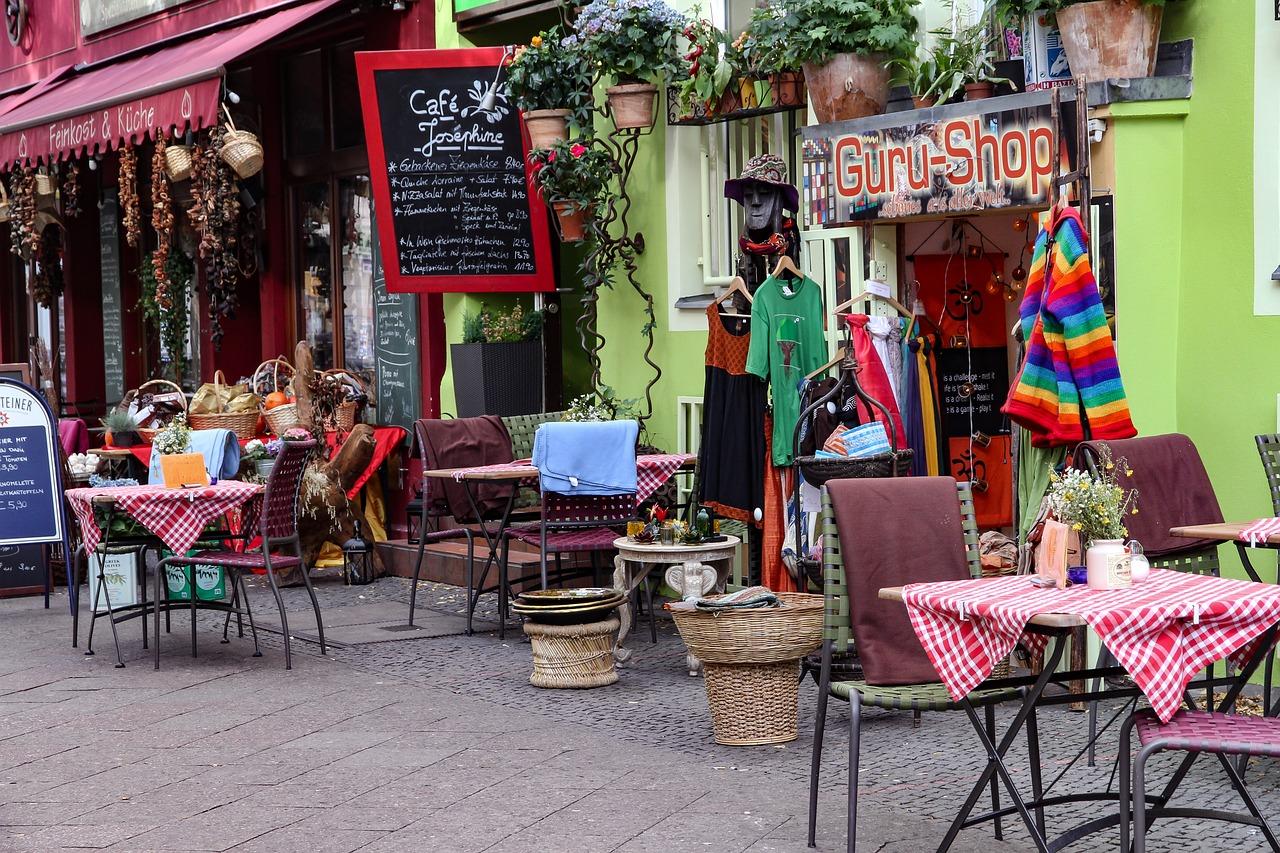 Традиционный праздник на Bergmannstraße