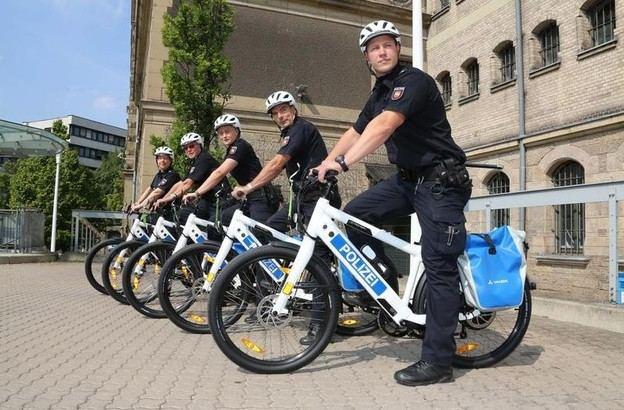 Полицейские Берлина сядут на велосипеды?