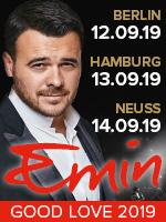 Емин в Берлине. Емин в Гамбурге. Емин в Германии
