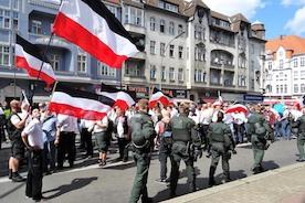 Антифашисты прогнали неонацистов из Шпандау