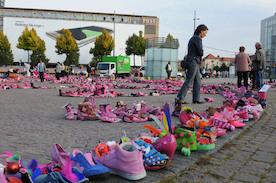 Лейпциг: «День розовой обуви»