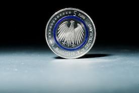 Монета 5 евро появилась в Германии
