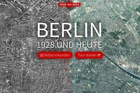 Берлин в 1928 году и сегодня