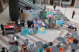 «Мозаика Вселенной»: дети рисуют космос