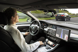 Будущее рядом: на улицы Германии выезжают беспилотные автомобили