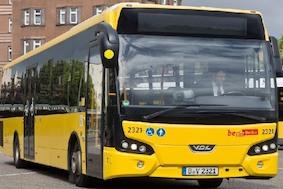 BVG: желтые автобусы «зеленеют»