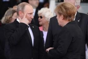Путин, Меркель и Олланд обсудили ситуацию в Украине и газовые вопросы
