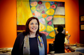 Выставка Иветы Веценане: полотна, которые разговаривают со зрителями на своем языке
