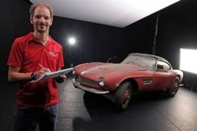 BMW: автомобиль Элвиса Пресли будет отреставрирован