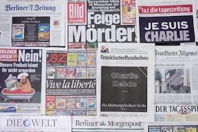 Реакция Германии на теракт в Париже